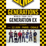 Generations From Exile Tribe en concert à La Cigale de Paris en juin 2015