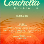 Coachella Ohlala 2015 au Café de la Presse à Paris