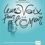Leurs Voix pour l'Espoir 2015 à l'Olympia de Paris