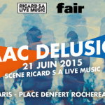 Fête de la musique 2015 à Paris : Ricard S.A. live Music à Denfert