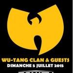 Wu-Tang Clan en concert au Zénith de Paris en juillet 2015