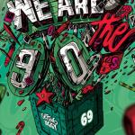 We Are The 90's #69 à la Machine du Moulin Rouge