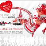 No Finish Line Paris by Siemens 2015 : course solidaire et non stop sur le Champ de Mars