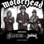 Motörhead en concert au Zénith de Paris en novembre 2015