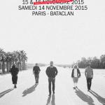Deftones en concerts au Bataclan de Paris en novembre 2015
