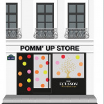 Le Pomm'Up Store by Ecusson s'installe à Paris