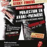 """Soirée Rolling Stones """"Sticky Fingers"""" au Publicis Cinémas"""