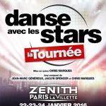 Danse avec les stars au Zénith de Paris en janvier 2016