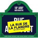 La Rue de la Flandre débarque à Paris