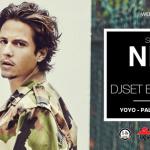 Nekfeu en showcase au Yoyo