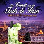 After Work sur les Toits de Paris au Tout Le Monde En Parle