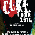 The Cure en concert à l'AccorHotels Arena de Paris en 2016