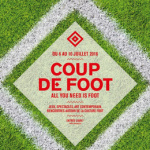Euro 2016 : Coup de Foot au Carreau du Temple