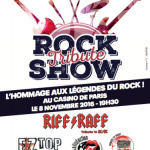 Rock Tribute Show au Casino de Paris en novembre 2016