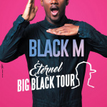 Black M en concert à l'AccorHotels Arena de Paris en 2017