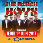 The Beach Boys en concert à l'Olympia de Paris en 2017