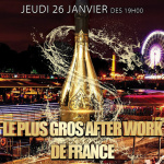 Le Plus Gros Afterwork de France débarque au Flow