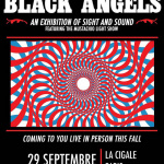 The Black Angels en concert à La Cigale de Paris en septembre 2017