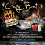 Crazy Boat Party, spéciale rencontres, au River's King