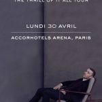 Sam Smith en concert à l'AccorHotels Arena Bercy de Paris en avril 2018