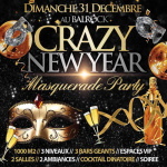 Réveillon 2018 à Paris : Crazy New Year 2018 au Balrock