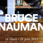 Bruce Nauman à la Fondation Cartier : spectaculaire