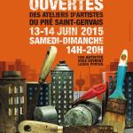 Les ateliers d'artistes du Pré Saint-Gervais vous ouvrent leurs portes, édition 2015