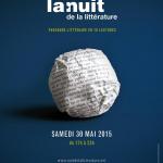 Nuit de la littérature 2015