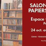 Salon du livre et papiers anciens 2014 à l'Espace Champerret de Paris