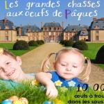 Chasses aux œufs au Château de Breteuil pour Pâques 2015