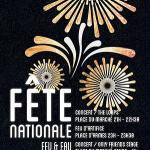 Feu d'artifice du 14 Juillet 2015 à Versailles