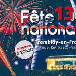 Feu d'artifice du 14 Juillet 2017 à Tremblay en France