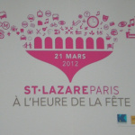 Inauguration Saint Lazare Paris