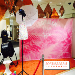 Photo-call pour se sentir en vacances - Afterwork des Galeries Lafayette pour le Summer Break