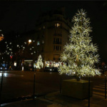 Lancement des illuminations de Noël 2016 à Paris