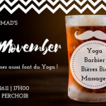 Yoga Movember au Perchoir