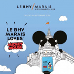 Le BHV Marais Loves Mickey Mouse, la collection capsule de la rentrée