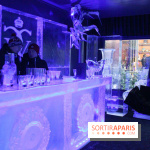 Ice lounge experience au George V