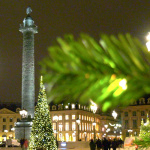 Illuminations de Noël 2017 de la place Vendôme