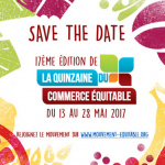 La Quinzaine du Commerce Equitable 2017 à Paris