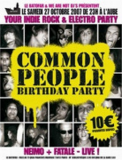 Common People Birthday Party