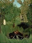 Le Douanier Rousseau,  Jungles à Paris