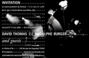 David Thomas vs Rodolphe Burger