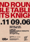Round Table Knights Release Party, Social Club