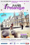 Pétanque sur le Parvis de l'Hôtel de Ville de Paris