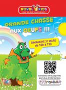 La Chasse aux oeufs de Pâques du Royal Kids 2013