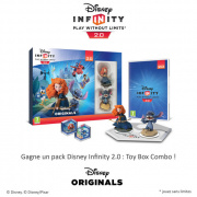 On vous offre des packs Disney Infinity 2.0 : Toy Box Combo !