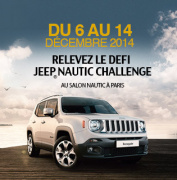 Le JEEP® Nautic Challenge au salon du Nautique !