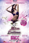 MISS LATINA - ENTREE GRATUITE @MIX CLUB