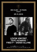 Rex Club « 25 years » avec Levon Vincent